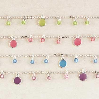 Glass Drops Necklaces