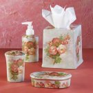 Patchwork Roses Bathroom Set