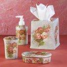 Patchwork Roses Bathroom Set