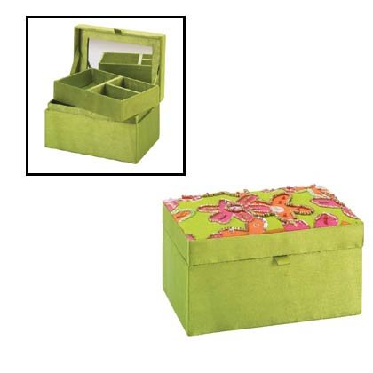 Fabulous Floral Jewelry Box