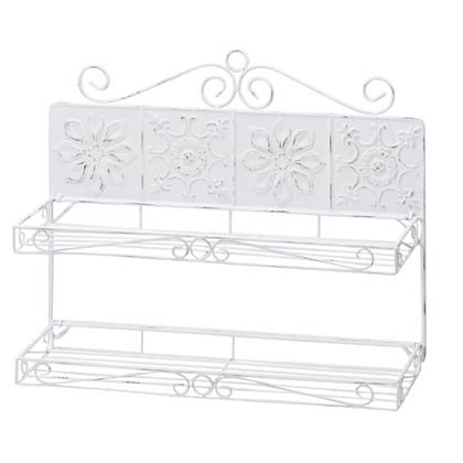 Snowflake Tile Wall Shelves