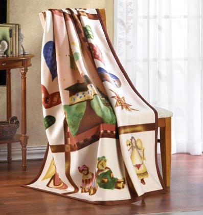 Country Comfort Fleece Blanket