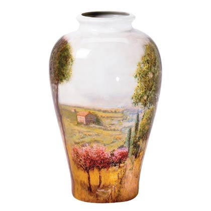 Tuscan Painted Vase