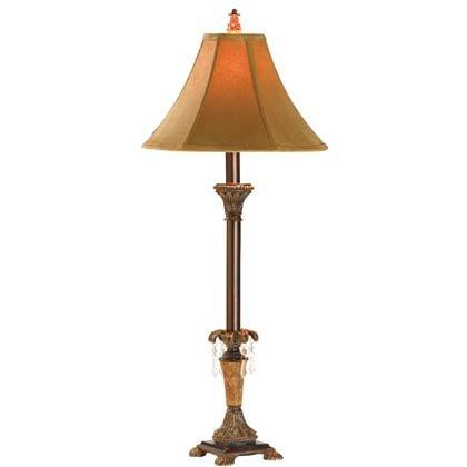 Cord Print Lamp