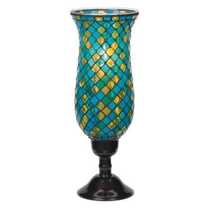 Tall Mosaic Candleholder