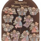 Black Angel Magnetic Memo Holders