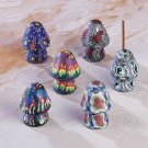 Assorted Fimo Incense Holders - Mushroom-Shaped