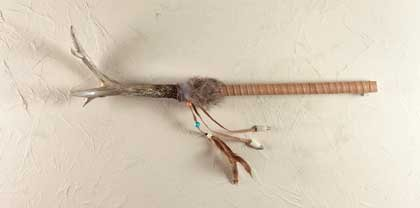 Faux Antler Talking Stick