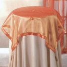Orange Sun Tablecloth