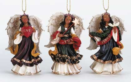 Angel Ornaments (Set of 3)