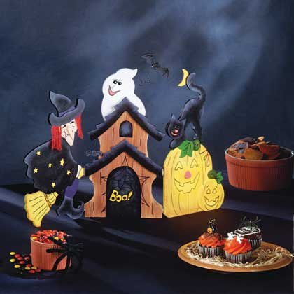Halloween Wood Screen