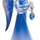 Glass Angel With September Birthstone