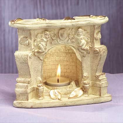 Fireplace Candleholder