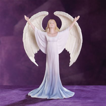 Praising Angel Figurine