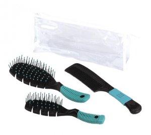 3-Piece Brush & Comb Set