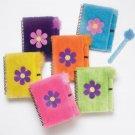 Soft N Fuzzy Flower Notebooks