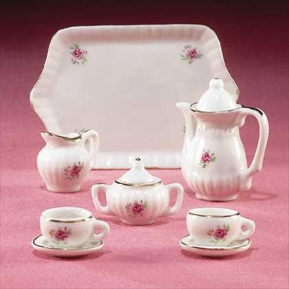 10-Piece Mini China Tea Set