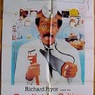 """ RICHARD PRYOR, RUBEN BLADES "" 1986 MOVIE POSTER 226"