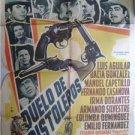 """""""LUIS AGUILAR,C.DOMINGUEZ""""MEXICAN MOVIE POSTER L 178"""