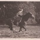 """LILIAN HARVEY RIDING A HORSE""36 MOVIE PHOTO STILL 4774"