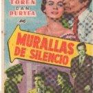 """ JAMES MASON, MARTA TOREN "" 1950 SPANISH HERALD L4045"