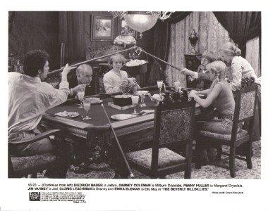 Beverly Hillbillies Dinner Pool Table Movie Photo 3043