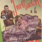"""""""IRENE DUNNE, FRED MacMURRAY"""" 1939 SPANISH HERALD 4478"""