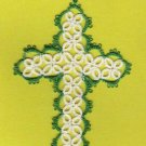 Tatted Cross Bookmark BEAUTIFUL HANDCRAFTED WORK - GTC701