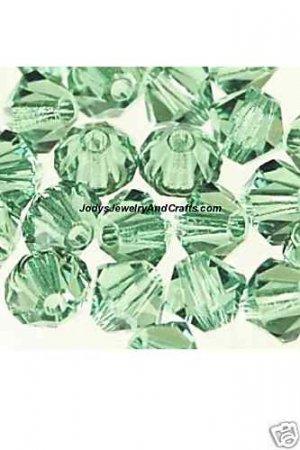 25 Pcs 4MM Erinite Swarovski Crystals 5301 Bicone