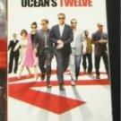 Ocean's Twelve Starring George Clooney Brad Pitt Matt Damon +