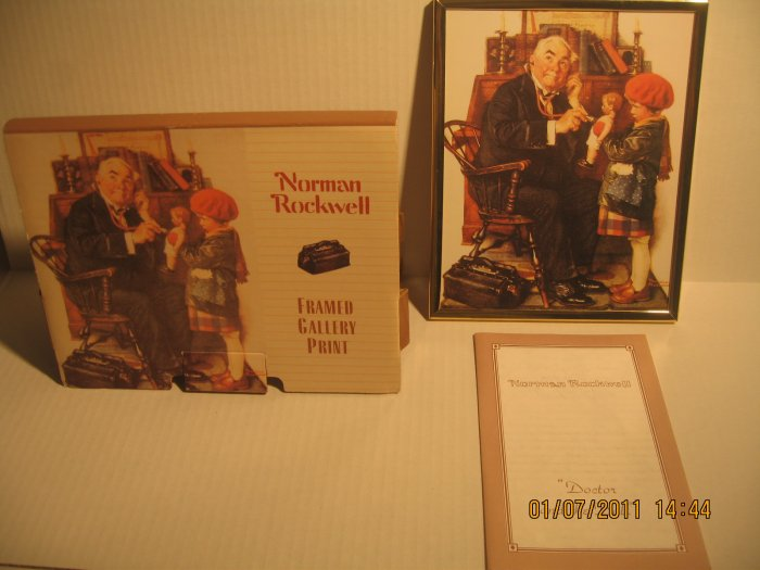Norman Rockwell Print