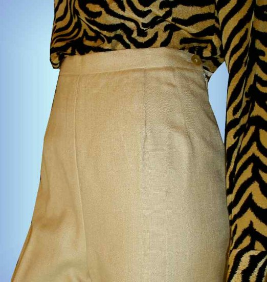 Loose Weave Silk Pants by Ann May - Corn Yellow - retail $165 - YOUR PRICE $19.99 - sz 8