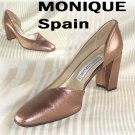 Uptown Copper Pumps by Monique Spain - Retail $99 - YOUR PRICE $17.99 - sz 9.5