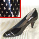 Black Patent wGold Accent Comfort Pumps by Selby - Retail $89 - YOUR PRICE $10.99 - sz 9.5