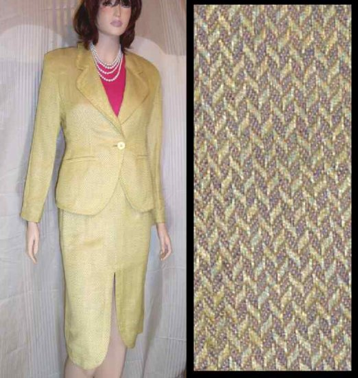 Achille Dattilo Designer Suit - Your Price $89.99 - Retail $999.00 - sz 8