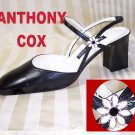 Anthony Cox Black Singlback Pumps - Embellished - $24.99 - sz 7.5