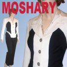 MOSHARY '70s Black-White Wool Pant Suit UNWORN w$567 tags - Your price $49.99 - M
