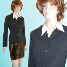 Ann May Sophisticated Princess Blazer size 10 * Charcoal - $39.99 - Retail $320
