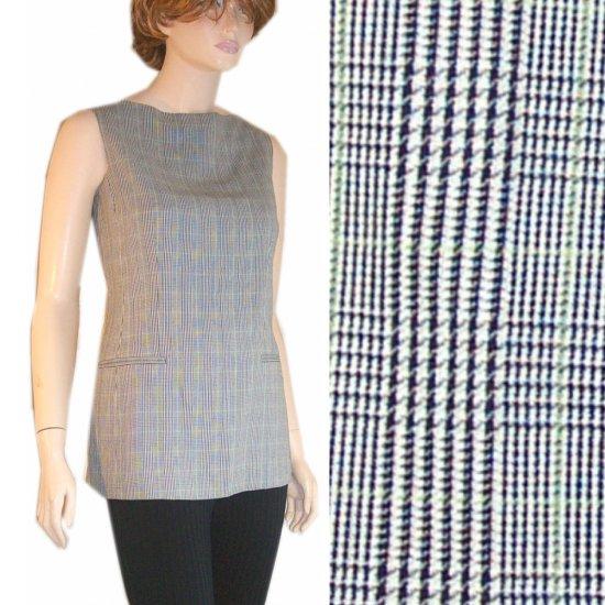 Anne Klein Tunic Mini-Dress Black-White - $22.99 - sz 6  * Retail $195