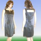 Max Studio Liquid Silver Silk Sheath Dress * sz 8 * $19.99
