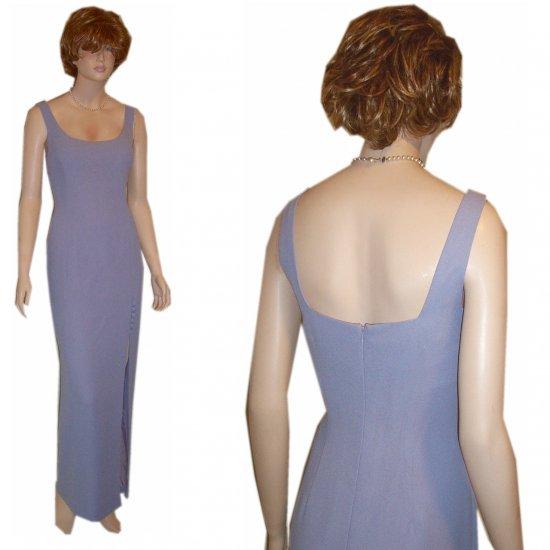 Nicole Miller '80s Drop-Dead Couture Gown * Unworn wtags $39.99 * Blue * sz M