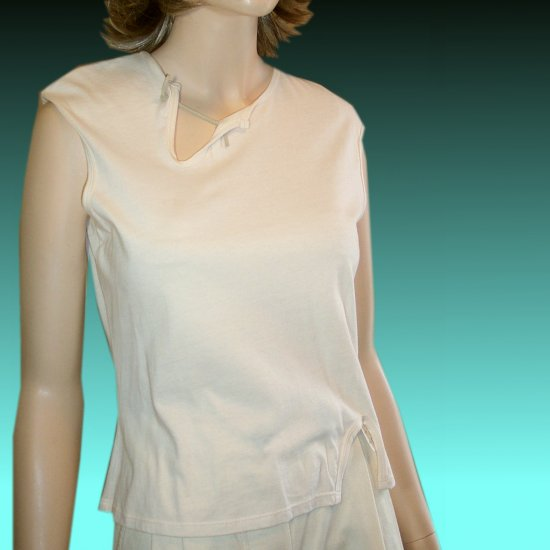 Deconstructed Knit Top by Tru Supply * sz XS * YOUR PRICE $9.99 in Vanilla