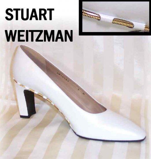 Stuart Weitzman Dress Pumps * Cream * size 8M * YOUR PRICE $39.99 * Retail $199