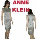 ANNE KLEIN VaVaVoom Satin Dress - sz 6 - Your Price $54.99 - Retail $323