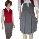 sz 4 RENFREW Figure-Flaw Hiding Back Pleat Skirt $29.99 - Retail $187