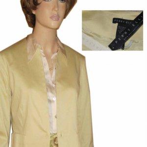 PERRY ELLIS Stretch Cotton Blazer - Vanilla sz 4 $22.99 - MSRP $168