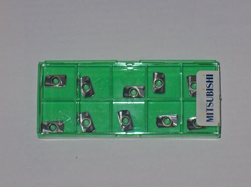 10 Pieces Mitsubishi Carbide Inserts IC APMT1135PDER-H2