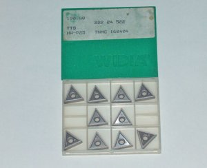10 Pieces WIDIA CARBIDE INSERTS TNMG 160404 HW-P25