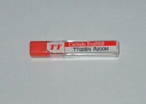 TT CARBIDE BALL END MILL TT02BN R200M RADIUS 2mm