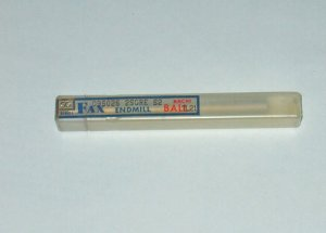 NACHI FAX SG SERIES BALL END MILL TL21 R2.6mm